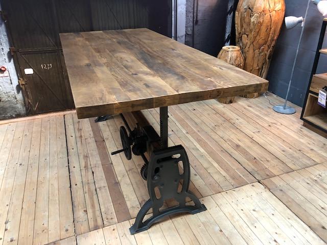 Turn tafel maxfurn barhoogte in hoogte verstelbaar
