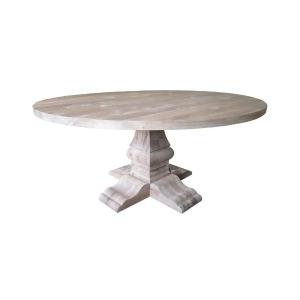 table de ravenne autour du bois de chêne