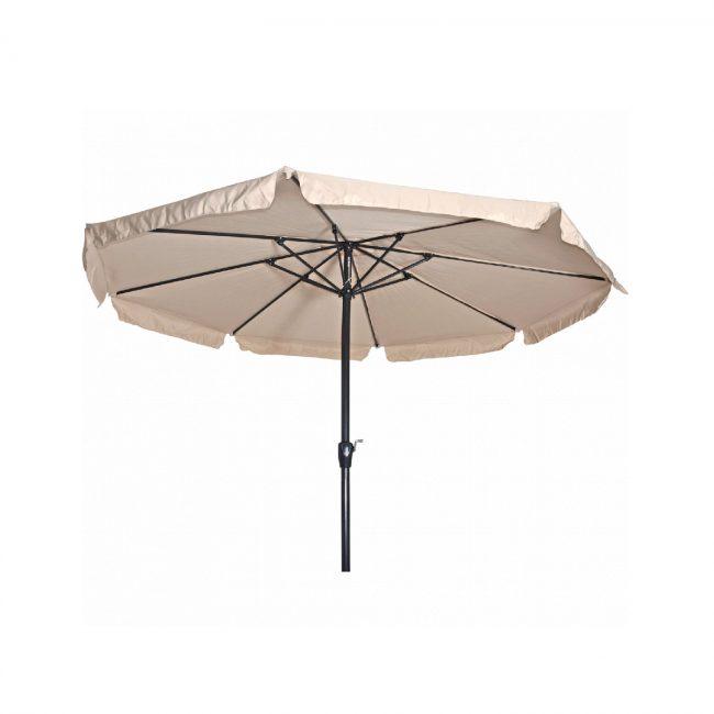 Parasol Libra Ecru Ø3,5 Meter