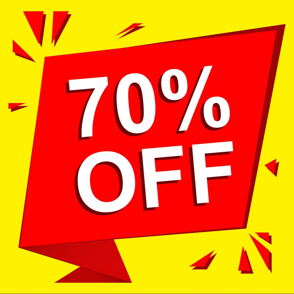 Price inside furniture to 70% discount!