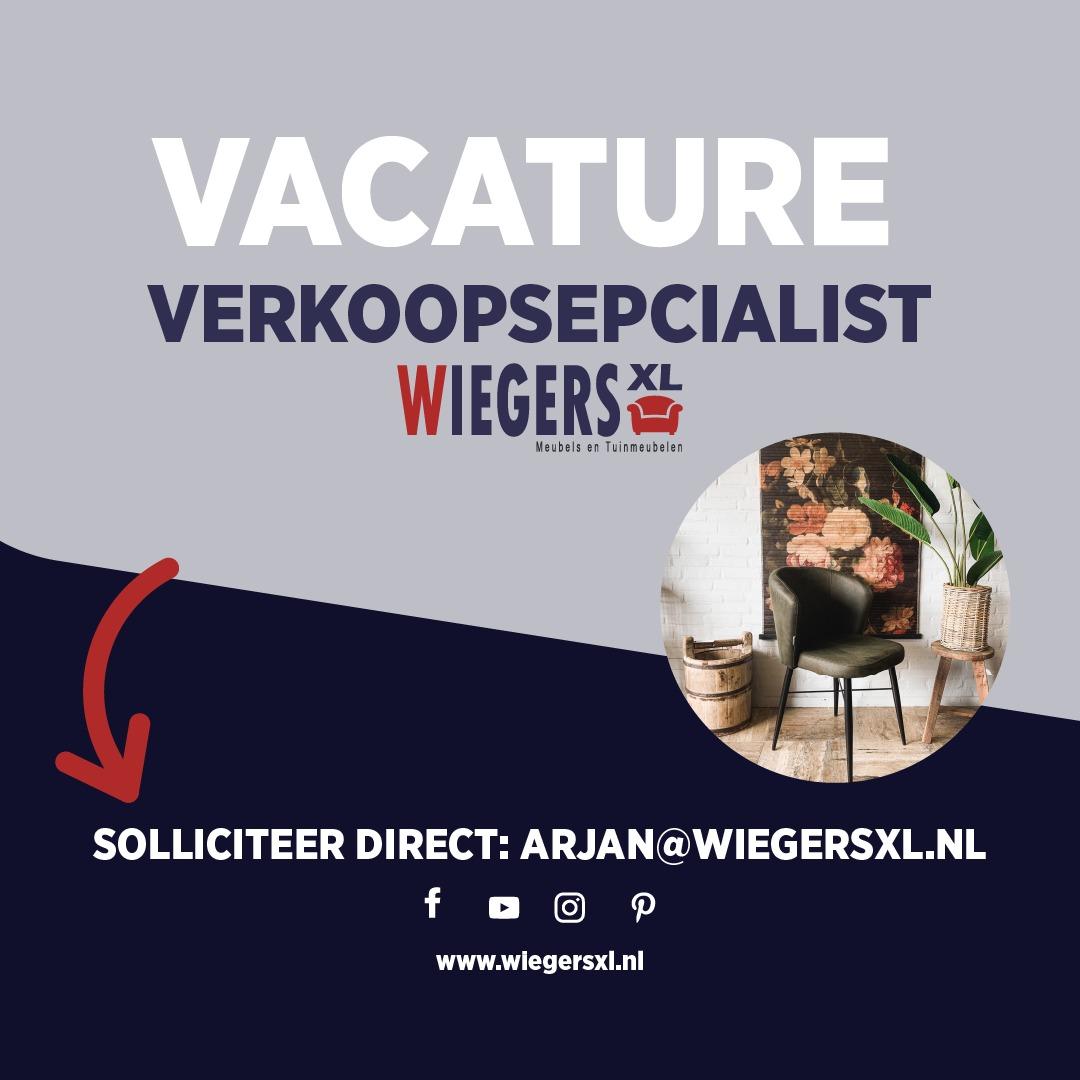 Vacature: verkoopspecialist