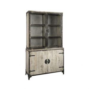 afficher basto armoire gris