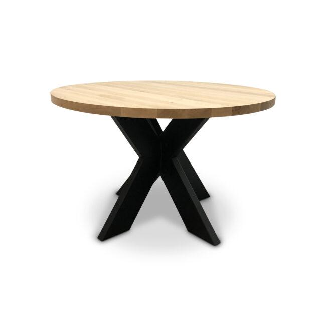Eettafel eikenhout rond | Prachtige ronde eiken eettafel | Wiegers XL