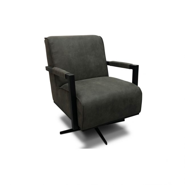 fauteuil assen antraciet wgxl collection