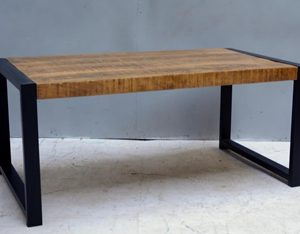 Coffee table Iron Mango Wood