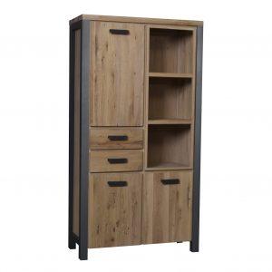 toledo armoire de stockage bois de chêne