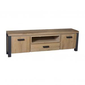 tv meubles toledo grand bois de chêne