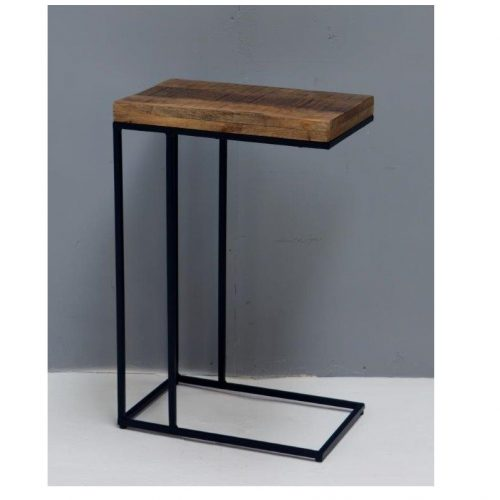 Iron Nellore side table