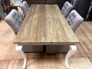 Tafel gerecycled teakhout