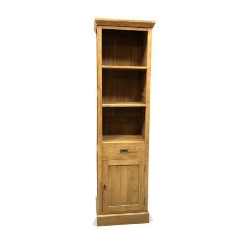 boekenkast smal duncan teakhout