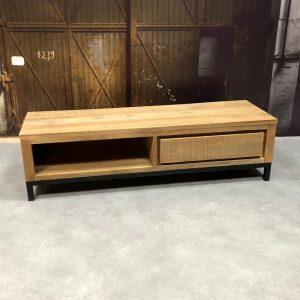 meubles tv lola petit bois de teck