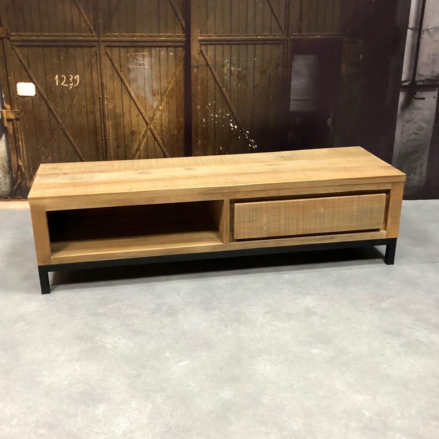 Tv Meubel Design.Tv Meubel Lola Klein Teak Tv Cabinet Industrial Design