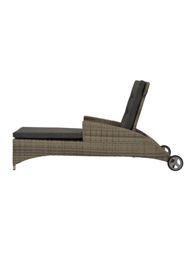 Buffalo ligbed gemaakt van wicker en aluminium - Wiegers XL