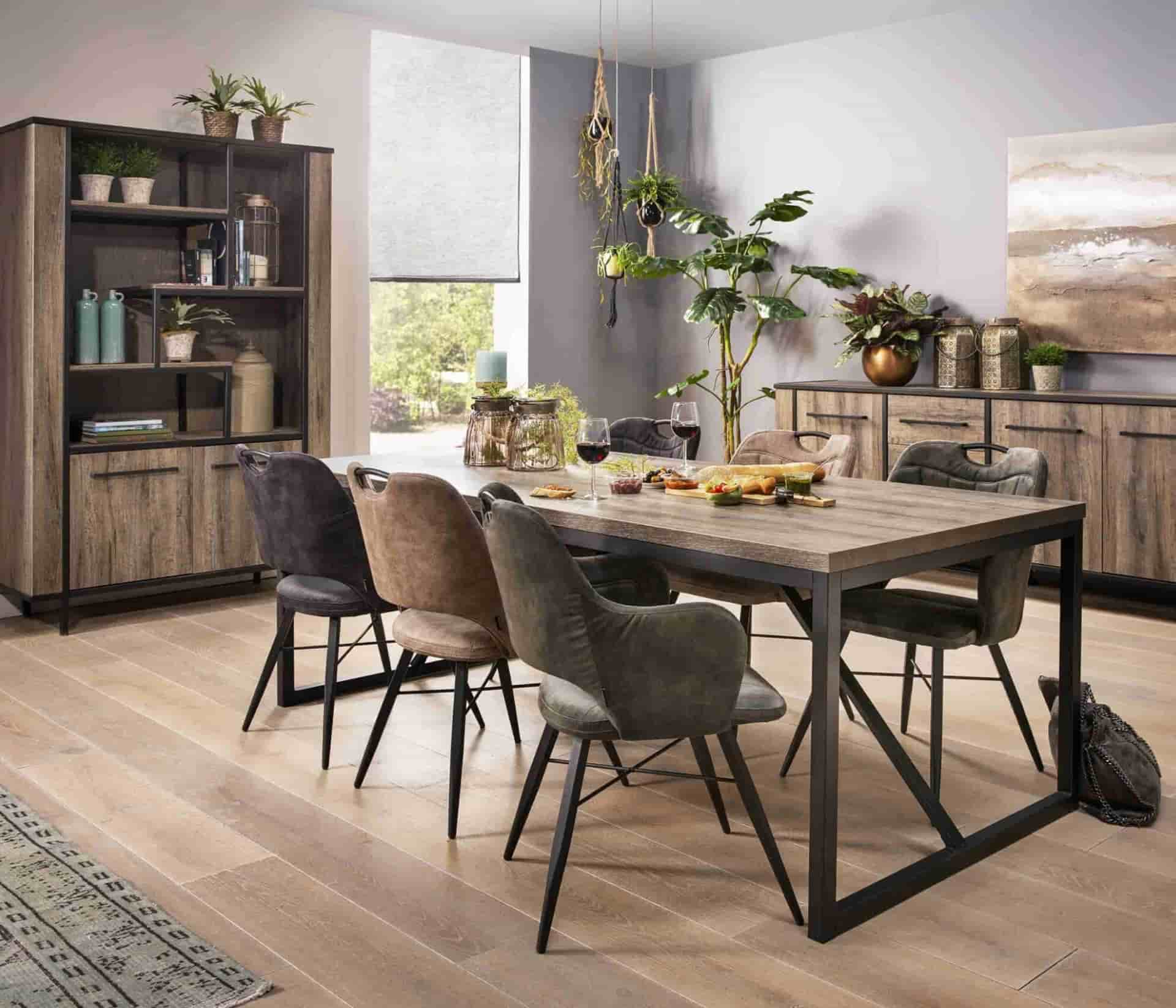 Wooden furniture on a wooden floor? This allows you to combine it!