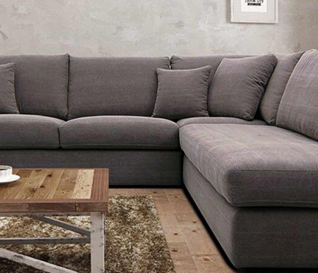 Canapé de tissu de nettoyage