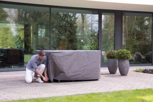 Dining Set Beschermhoes 4-6 Outdoor Covers | Wiegers XL
