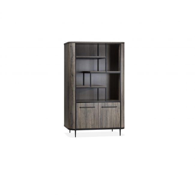 Bar Cabinet 2 Doors & 5 Open