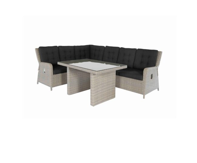 Saint Lucia Loungeset Rattan Mixed Brown