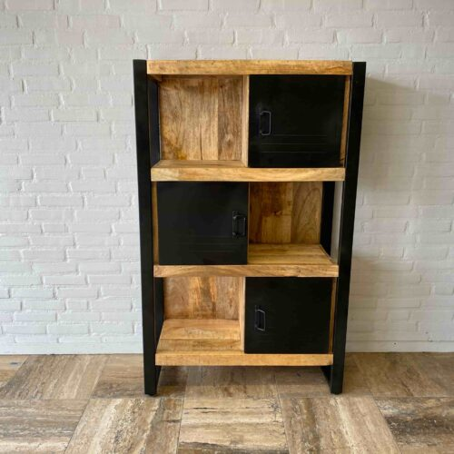 Mango Iron Bookcase