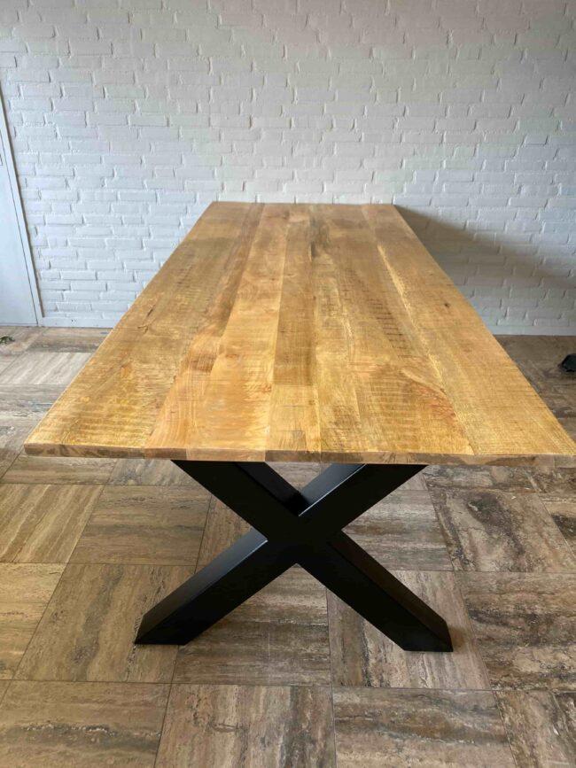 Rechthoekige Eettafel Mangohout