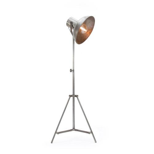 LABEL51 Vloerlamp Factory - Grijs - Metaal