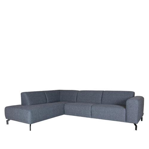 LABEL51 Bank Fano - Antraciet - Texture - Ottomane + 2