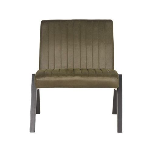 LABEL51 Fauteuil Matz - Army green - Microfiber