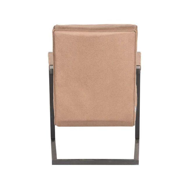 LABEL51 Fauteuil Milo - Stone - Microfiber