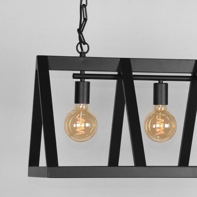 LABEL51 Hanglamp Roof - Zwart - Metaal - MT-2189