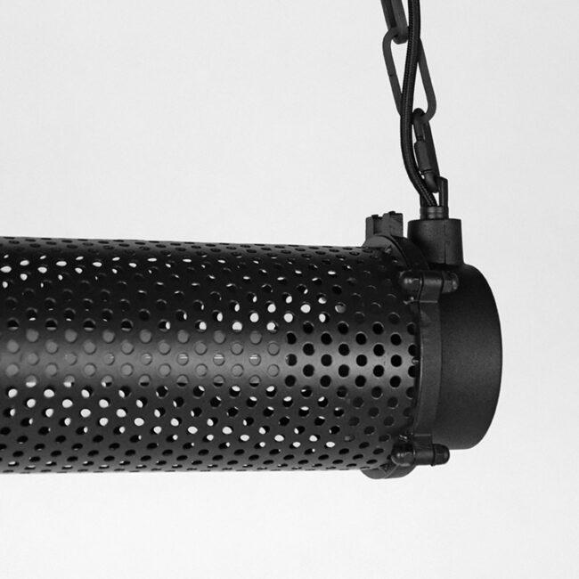 LABEL51 Hanglamp Tube - Zwart - Metaal - MT-2238