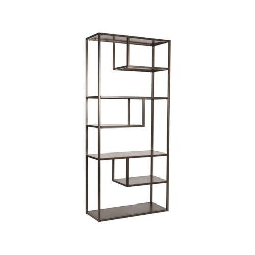 LABEL51 Boekkast Loft - Grijs - Metaal