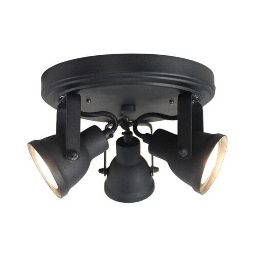 LABEL51 Spot Max - Zwart - Metaal - 3 Lichts