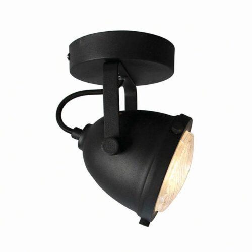 LABEL51 Spot Moto - Zwart - Metaal - 1 Lichts
