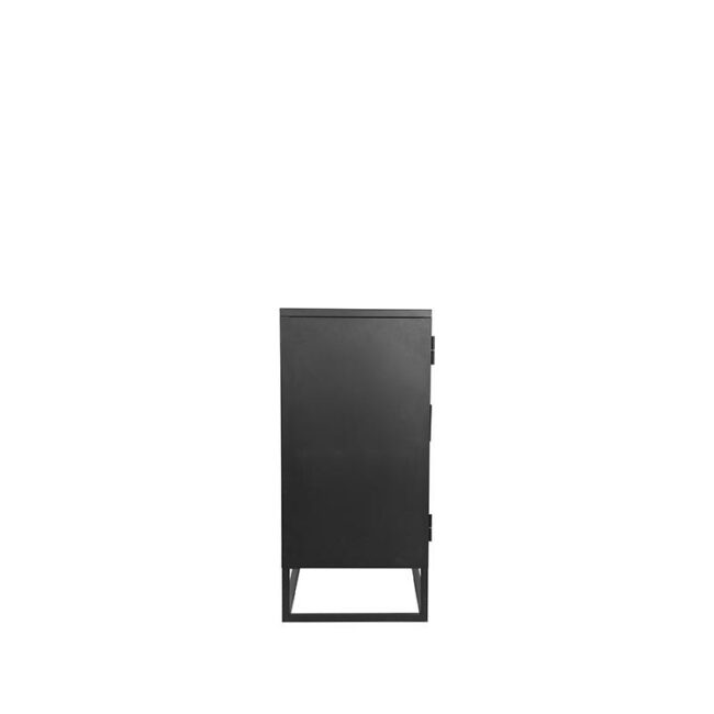 LABEL51 Vitrinekast Level - Zwart - Metaal - 85x40x85 cm - SL-51.014
