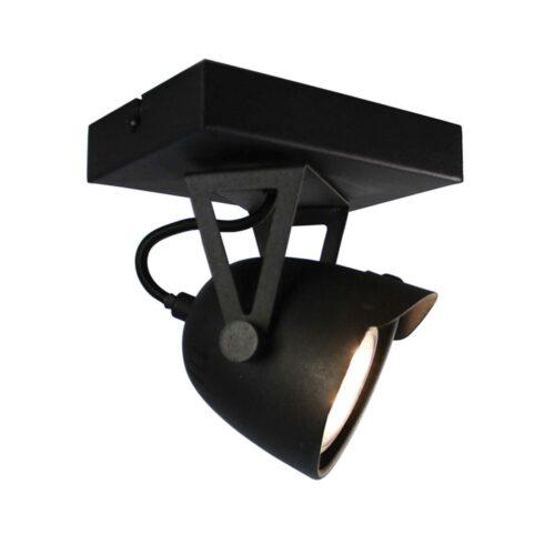 LABEL51 Spot Cap - Zwart - Metaal - 1 Lichts