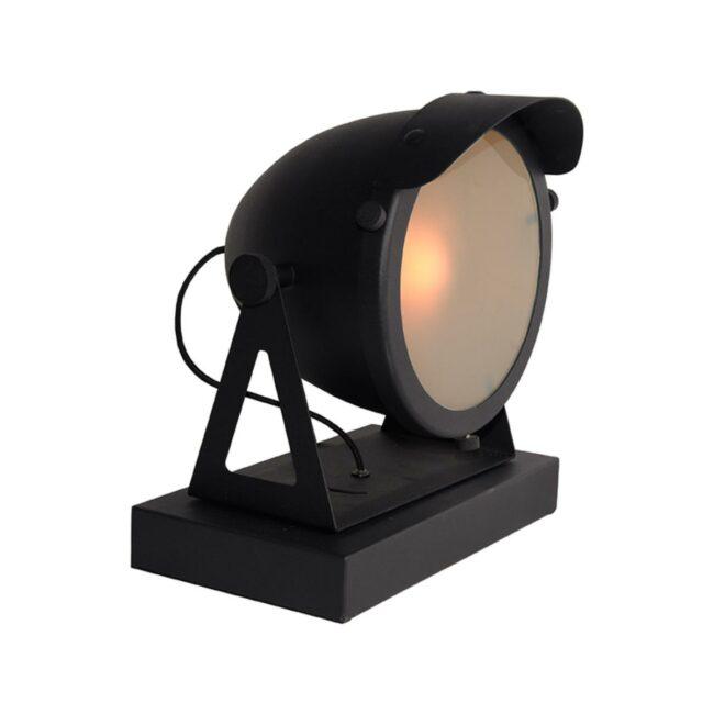 LABEL51 Tafellamp Cap - Zwart - Metaal