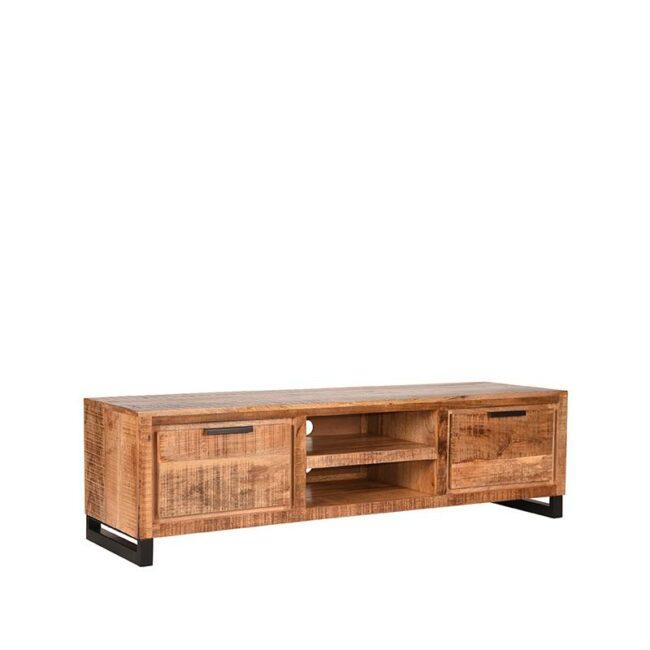 LABEL51 Tv-meubel Glasgow - Rough - Mangohout - 160 cm