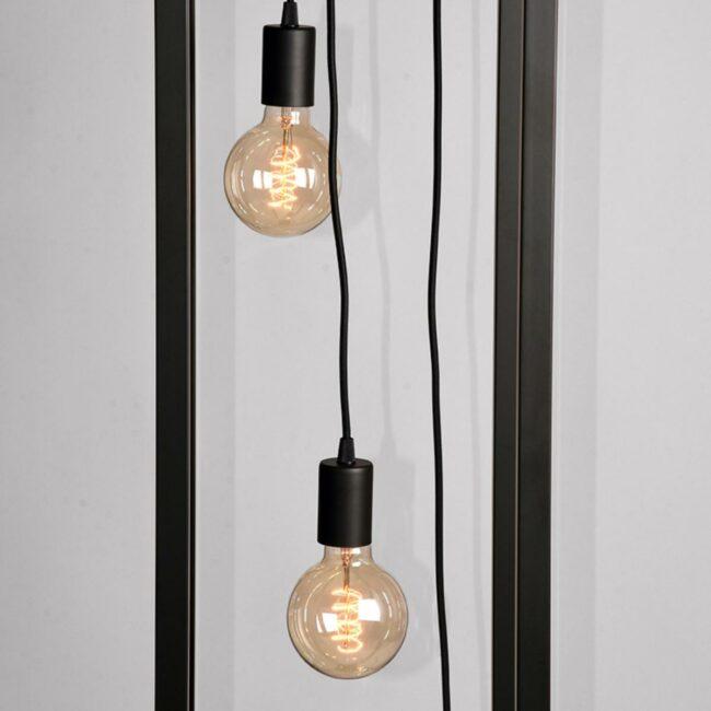 LABEL51 Vloerlamp Dangle - Zwart - Metaal - MT-2235
