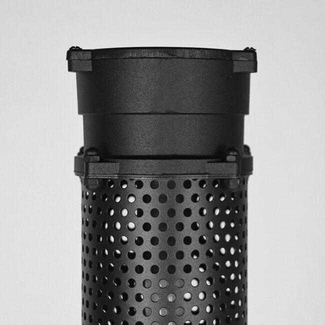 LABEL51 Vloerlamp Tube - Zwart - Metaal - MT-2239