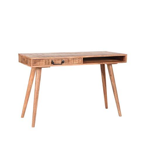 LABEL51 Bureau Stable - Rugueux - Mangohout - 118x50 cm