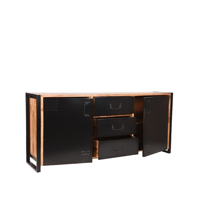 LABEL51 Dressoir Brussels - Rough - Mangohout - 190 cm