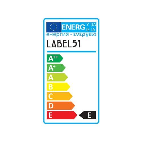 LABEL51 Lichtbron Spiraallamp Bol - Glas - M
