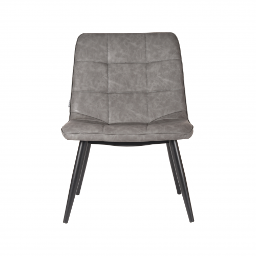 LABEL51 Fauteuil James - Grijs - PU-Leder - XS-40.021