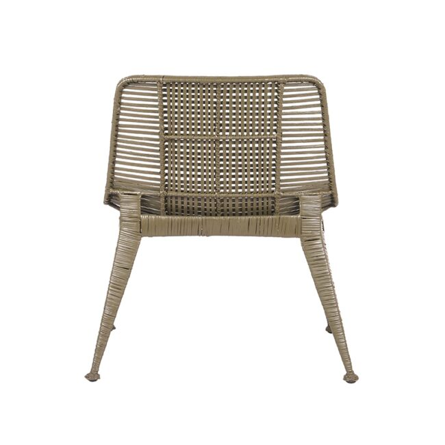 LABEL51 Fauteuil Rex - Army green - Rotan - HE-39.003