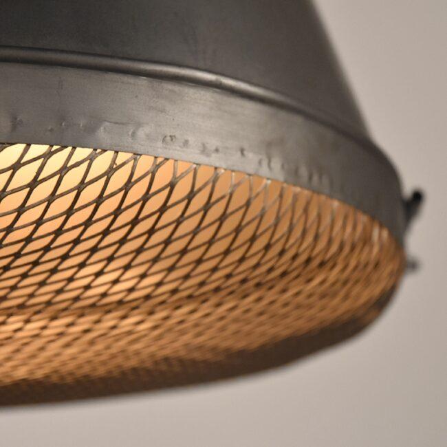 LABEL51 Hanglamp Gaas - Grijs - Metaal - L - SE-23.007