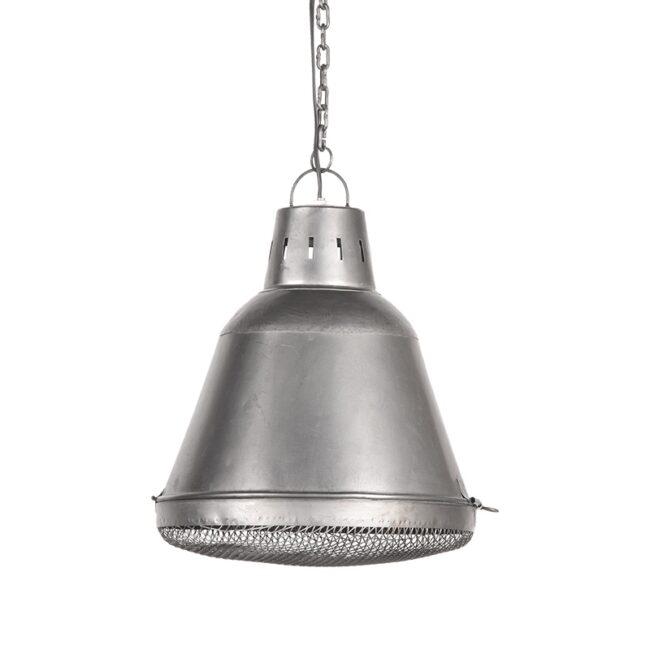LABEL51 Hanglamp Gaas - Grijs - Metaal - L