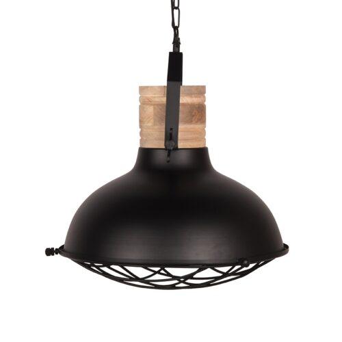 LABEL51 Hanglamp Grid - Zwart - Metaal