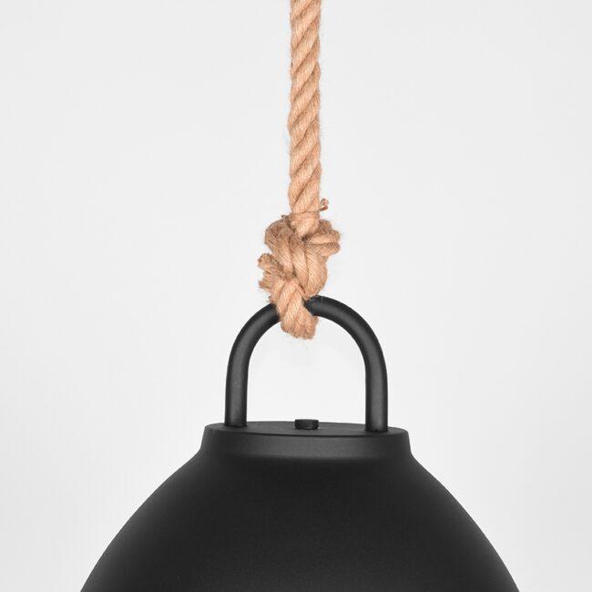 LABEL51 Hanglamp Korf - Zwart - Metaal - M - MT-2219