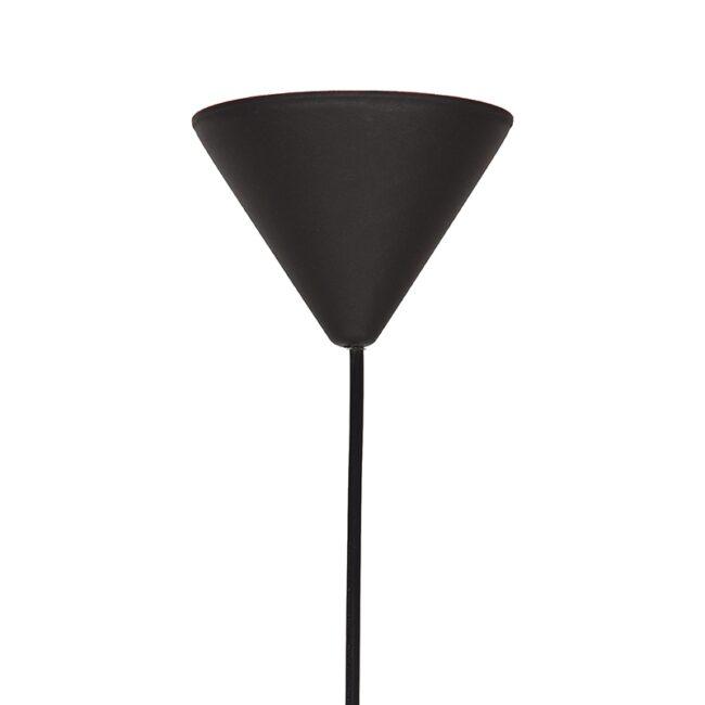 LABEL51 Hanglamp Twist - Zwart - Vlas - L - QP-4020