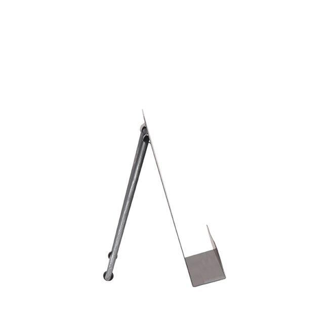 LABEL51 Kookboekstandaard - Antiek grijs - Metaal - GS-12.006